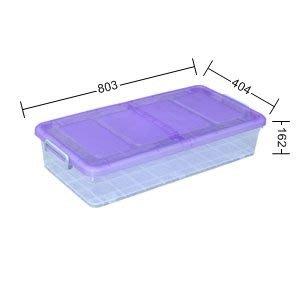 315百貨~專業居家收納~K0171 K017-1 雙面掀蓋式整理箱*3入組 /置物櫃 超大容量 床下置物箱