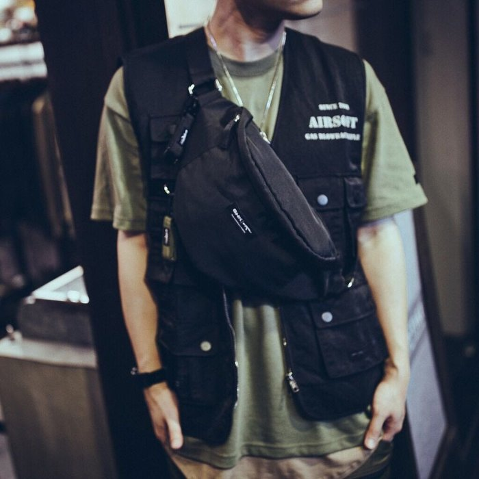 """GHK """"Veteran Collection"""" Waterproof Bag 黑色 腰包"""