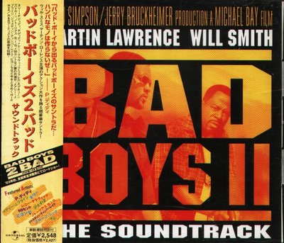K - BAD BOYS II BAD Soundtrack - 日版 Mary J. Blige Beyonce