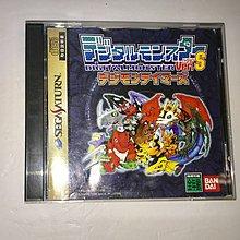 數碼暴龍 Digimon Tamers Ver.S Sega Saturn Game 遊戲 Bandai 中古