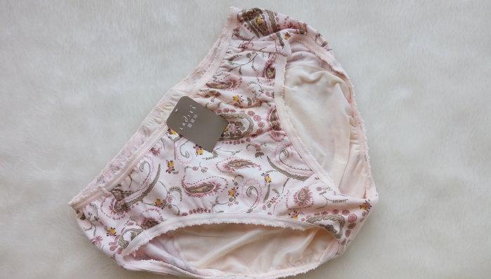 *JOLINNA~SHOP*111220專櫃正品蕾黛絲~花紋生理褲~L號~粉~直購220元~