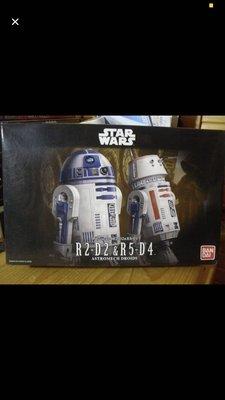 ※ star wars-The Hope-R2-D2 & R5-D4(全新)1盒