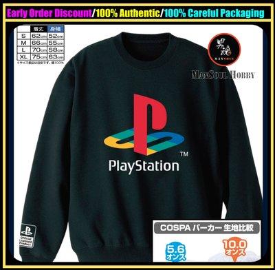 男魂 預訂 11-12月 可順豐 日版 PS 長袖衫 Cospa Play Station Sweatshirt Black S-XL Size