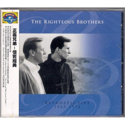 【全新未拆,免競標】The Righteous Brothers 正義兄弟:1963-1974 懷舊經典《環球原裝進口盤