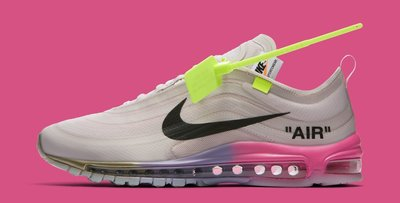 "(A.B.E)Off-White x Nike 耐克 Air Max 97 Serena Williams ""Queen"" 男女潮鞋"