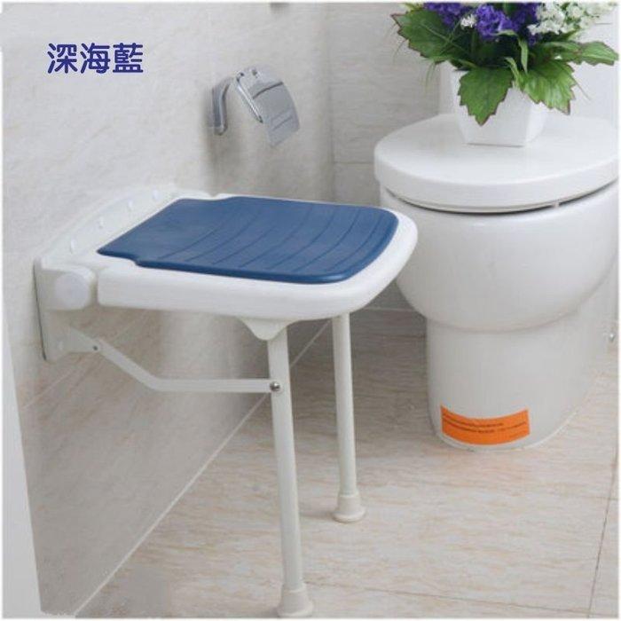 【奇滿來】老人防滑椅 淋浴椅凳 高42.5cm 耐重壁椅 穿鞋凳 收納椅 小凳子 可折疊椅 衛浴浴室座椅 照護 AYAK