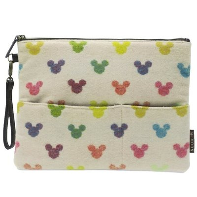 🇯🇵Mickey and Minnie 米奇 米妮 日本原裝正版 pouch mrs-2335017500