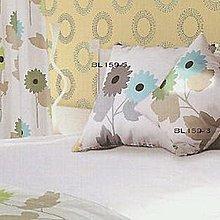 【倈利寢飾窗簾】 45*45cm 抱枕 精緻棉麻印花布  BL159-4.5.6 (可訂做)