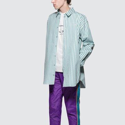Martine Rose - Oversized Bounded Shirt 男條紋襯衫 超低折扣代購中