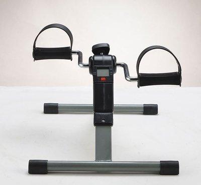 輕巧省位 可摺叠 可調腳踏力 迷你腳踏車 小單車 家用 健身車 時尚 腿部訓練器 老人家物理治療 年輕人適用 永遠不會跌到的單車 運動器械 運動器材