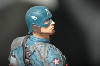 【烏龍1/2】sideshow ps3 復仇者聯盟 Captain America 美國隊長 Marvel 酷寒戰士 pf 雕像