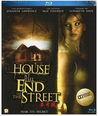 【BD藍光】地下弒:初回外紙盒House at the End of the Street(中文字幕,TrueHD)*