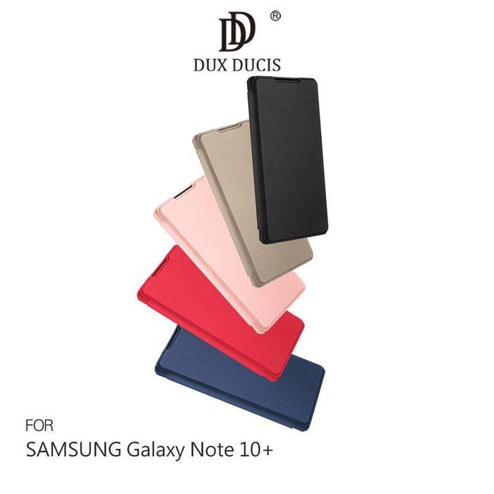 KINGCASE (現貨) DUX DUCIS SAMSUNG Note 10、Note 10+ SKIN X 皮套插卡