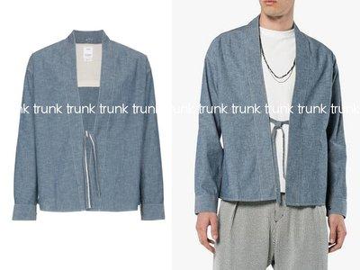 Visvim Indigo Chambray Llamo Shirt 道袍 和衫 中村 全新現貨 5 鬼罕尺寸