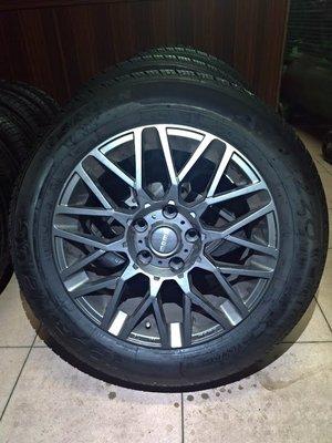 205 60 R 16 胎19年製造 9成新 落地胎 MOMO 16吋 鋁圈 5孔 114.3 7J 二手 中古 輪胎