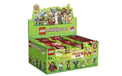 (bear)全新現貨 lego 樂高 71008 minifigures  13代人偶 一箱全60隻