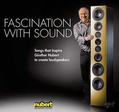 【黑膠唱片LP】「新寶」揚聲器 - 聲的魅力 Nubert - Fascination With Sound (45轉)
