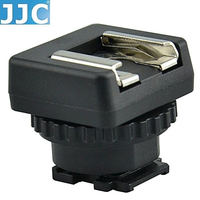 又敗家JJC副廠熱靴轉接器適SONY智慧型攝影機熱靴轉換座MSA-MIS轉接座攝影機熱靴轉換器Muti錄影機熱靴座轉接器Interface索尼Sony熱靴轉接座