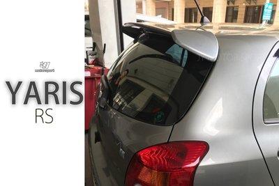 小傑車燈精品--全新 YARIS 06 07 08 日規 RS 原廠型 尾翼 含烤漆 空力套件 只要 1800