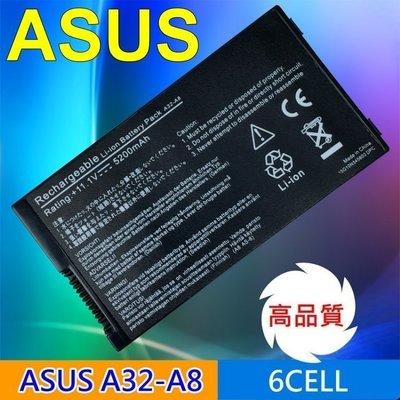 ASUS 高品質 電池 A32-A8 70 A8Jv A8Le NB-BAT-A8-NF51B1000 台中市