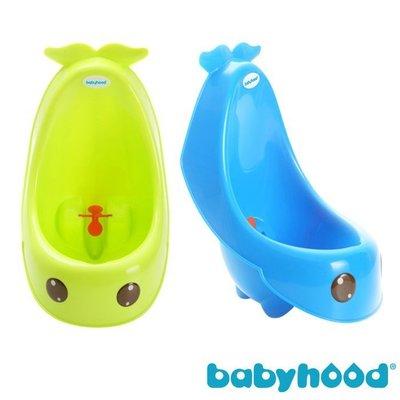 ☆╮花媽╭☆ babyhood 藍鯨艾達便斗 / 鯨魚造型 / 專為男童設計的小便斗