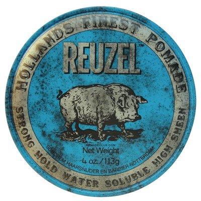 【現貨】Reuzel Blue Pomade 荷蘭水洗式髮油 豬油 Suavecito Slick Devil