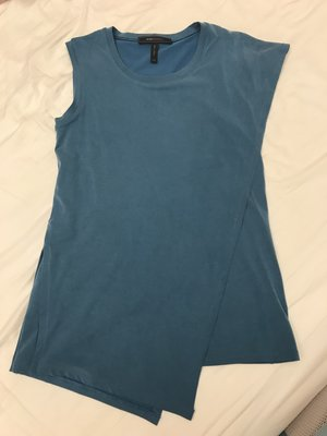 BCBG MAXAZRIA 藏青色造型上衣
