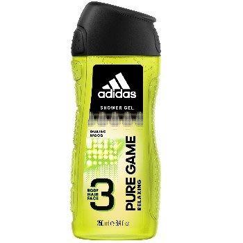 Adidas 愛迪達 男用三效潔顏洗髮沐浴露-極限挑戰 250ml《四季花蕊》