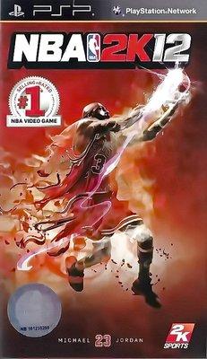 【二手遊戲】PSP 美國職業籃球賽 2012 NBA 2K12 英文版【台中恐龍電玩】