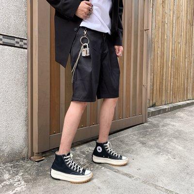 【inSAne】訂製款 / 折線 / 版型立挺 / 不含鎖頭 /西裝短褲 / 黑色 / M & L & XL & 2XL