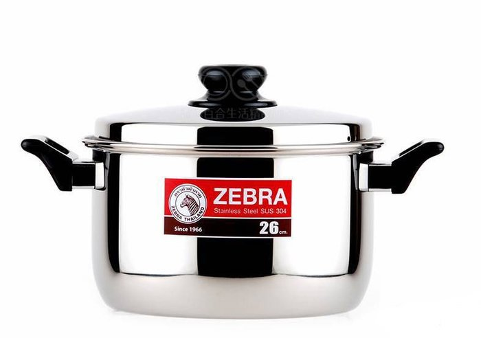 斑馬牌雙耳湯鍋30cm 斑馬雙耳湯鍋 斑馬牌頂級304不鏽鋼雙耳湯鍋 煮鍋 燉鍋 不銹鋼湯鍋 不鏽鋼鍋 鍋子