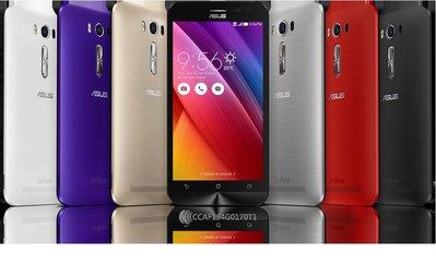 ASUS ZenFone2 Laser ZE500KL 5吋 原廠背蓋 電池蓋 有電源鍵 全新 灰色跟金色 裸裝