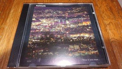 Azimuth by john taylor trio how it was then ECM cd1538 稀有絕版德版
