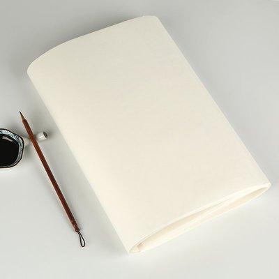 港灣之星-宣紙四尺四開加厚50克熟宣空白紙成人入門毛筆字臨帖小楷書法臨摹(規格不同價格不同)
