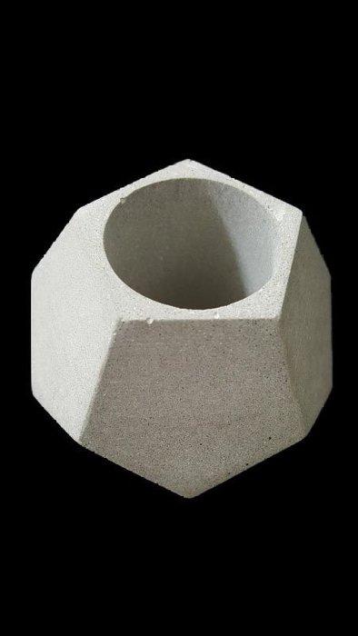 幾何立體水泥筆筒花盆/幾何筆筒.書夾.書擋.文創.療癒.個性化.幾何立體水泥筆筒花盆