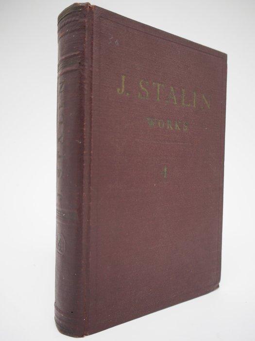 【月界】J. STALIN-works volume 4:1917~1920(絕版)_史達林_1953年 〖政治〗AEH