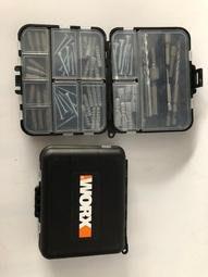 威克士 worx小威盒子73件套 螺絲批頭附件 螺絲起子頭零件盒