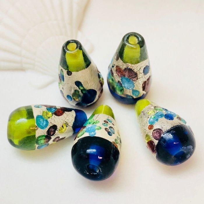 [馬克與安]義大利手作琉璃散珠-小酒瓶琉璃珠/18mm*9m ⭐️商品價一顆價⭐️滿288發貨⭐️DIY 配件