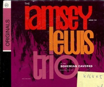 *真音樂* RAMSEY IEWIS TRIO / AT THE BOHEMIAN CAVERNS 全新 K16445