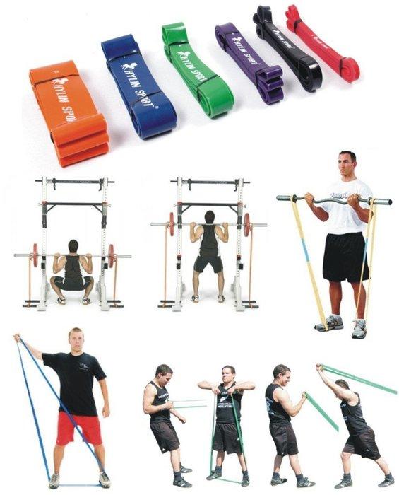 【奇滿來】阻力帶 POWER BAND 綠色 承受磅數:50 - 125磅 長訓練帶 拉力帶彈力帶 田徑肌力靈活AAPO