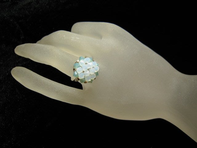 ※水晶玫瑰※ SWAROVSKI 水晶戒指~(HAND55)