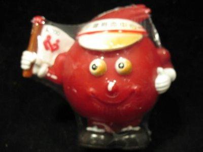 捐血寶寶 - 花蓮捐血中心 - 2000年版 - 帽缘紅色 - 保存狀況佳 - 151元起標 非麥當勞 星巴克