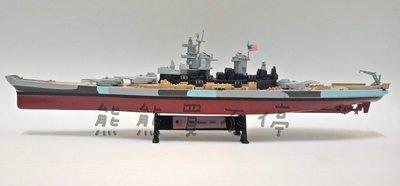 現貨 美國二戰最後一艘退役的戰艦 密蘇里號戰艦 USS Missouri BB-63 1:1000 合金仿真軍艦模型