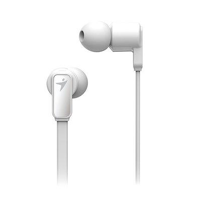 {藤井小舖}Genius 昆盈 HS-M260 高音質入耳式降噪耳機麥克風 (白色)