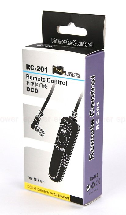 ~台北~動力屋 ~Pixel品色 貨快門線 RC201~DC0 Nikon D1 D2 D