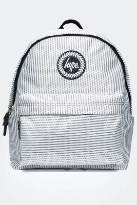 HYPE TRANSIT BACKPACK 白色 灰點 滿版 甜美 英倫 後背包