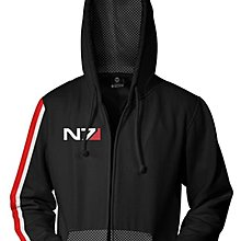 【丹】J!NX_MASS EFFECT DELUXE N7 ZIP-UP HOODIE 質量效應 連帽 外套