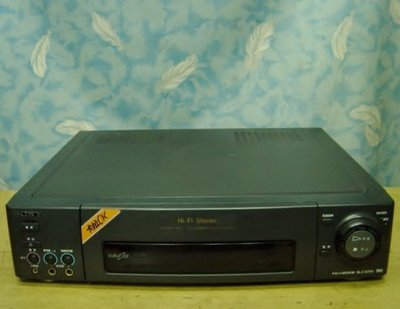 【小劉二手家電】SONY VHS錄放影機,SLV-6TK1型,壞機也可修理/回收!