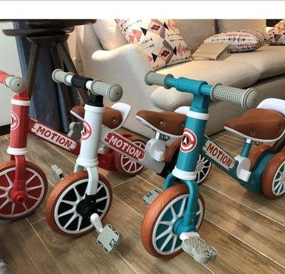 最新2020新品二合一滑步車兒童平衡車腳踏滑行寶寶小孩滑步腳踏車兩用溜溜車