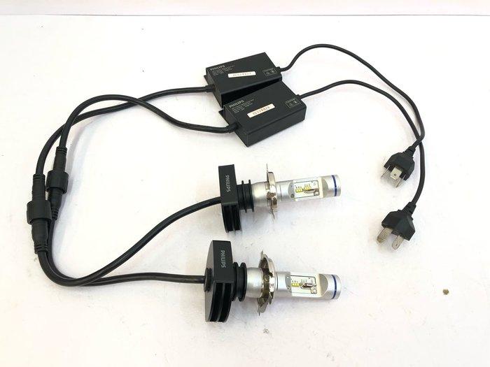 【炬霸科技】12V 24V PHILIPS 飛利浦 H4 LED 大燈 燈泡 6200K 23W 中古 無保固